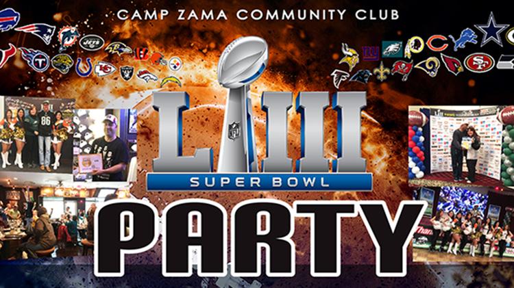 Camp Zama Community Club Super Bowl Party