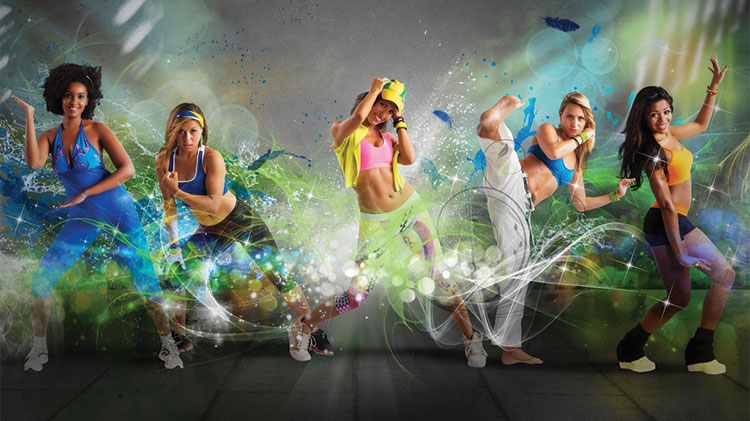 Group Nightclub Cardio Fitness