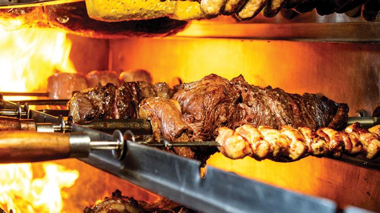 Brazilian BBQ & Stroll Harajuku Area
