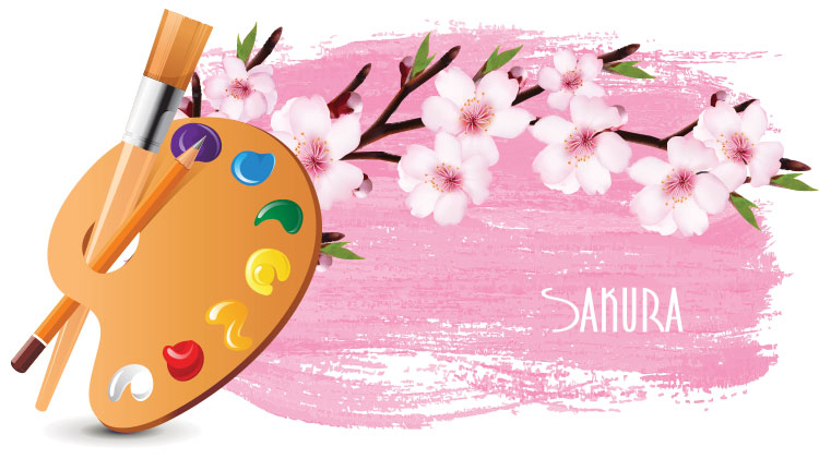Sip & Paint (Sakura Blossoms)